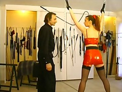 tied, bdsm, outfit, from, girl, tied up