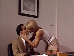 milf, lia, secretary, ass, drilled, dick, hardcore, gets, anal, on, blowjob, blonde