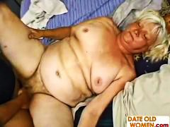 Ugly Fat Granny Banging video