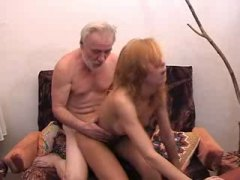 Old man fuck girl full... video
