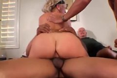 Thumb: Hubby watches his wife...