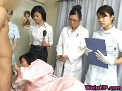 Thumb: Asian wife is examinin...