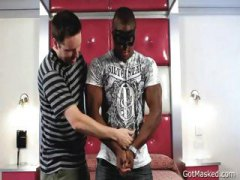 Thumb: Black hunk gets his ma...