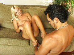 tranny, anal, gets, blonde, blond
