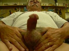 Thumb: jerking off a big load