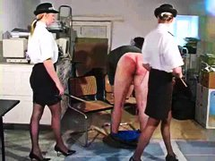 Police women punish video