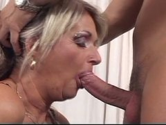 Blonde grandma whore l... video