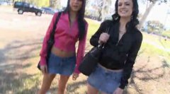 Two Sexy Teens Pick Up... video