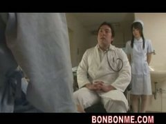 nurse threesome fucked...