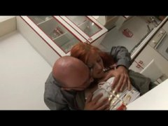 ITALIAN REDHEAD GETS M... video