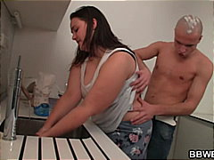 See: Cooking BBW gets lured...