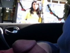 Thumb: flashing in the car 8
