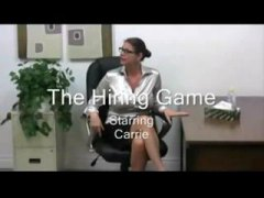 Nuvid Movie:Carrie Moon - The Hiring Game.