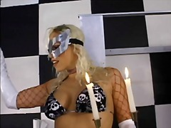 nicki hunter,  strapon, bdsm, strap