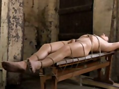 BDSM slave gay boy tickled & milked schwule jungs