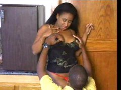 Thumb: Black whore with big t...