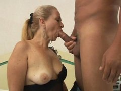 Mature Laura  58 y old  First scene