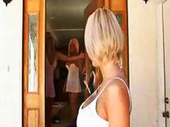 See: Blonde mom with big ho...