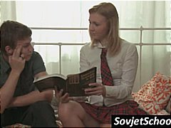 See: Russian schoolgirl is ...