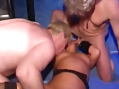 Horny swingers unite sucking and fucking in a hot and steamy group orgy