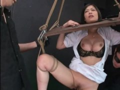 humiliation, pussy play, bdsm, uniform