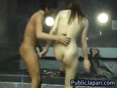 interracial, outdoor, voyeur, blowjob, public, asian, sweet, model, part4