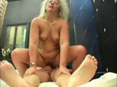 Thumb: Ass pounded mature blo...