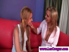 Thumb: Blonde Bella Banxx suc...