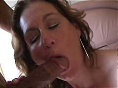 cock, mature, sucks, load, busty, milf, gets, facial, manuela, pounded, brunette, nylon