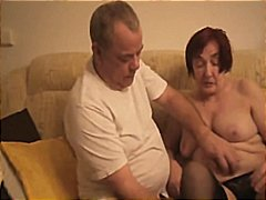 Granny masturbating by...