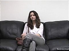 Nuvid Movie:Young brunette amateur comes t...
