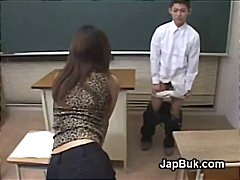 Thumb: Japanese schoolboy ass...
