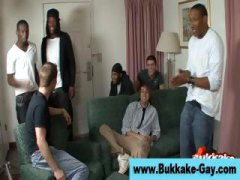 gangbang, bukkake, group, gay, guy, facial,