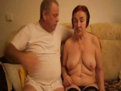 Horny old redheaded gr... video