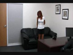 redhead, gets, soccer, fucked, goes, red head, hardcore, audition, busty
