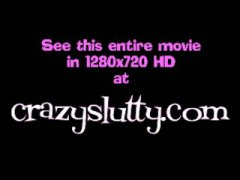 CrazySlutty slide it i... video
