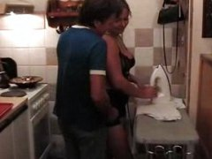 Redtube Movie:Chubby one has hot fun in kitchen