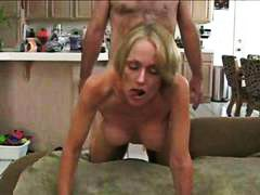 blowjob, creampie, housewife, cum, gets, hubby, amateur, cougar, mature, home made, melanie, cock, milf, nailed, handjob, on, barebacking, blonde, big tits