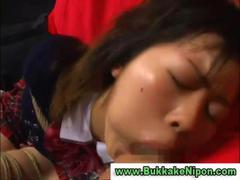 Real japanese babe get... preview