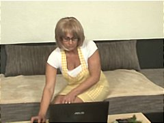 Nuvid Movie:Busty German blonde MILF gets ...