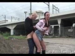 Extreme public-sex by ... video