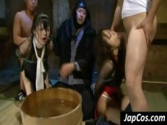 Two Asian babes are ti... preview