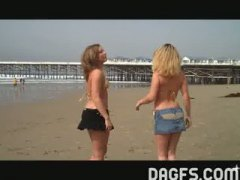 Fun at the beach video