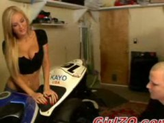 Amy Reid - Hard Doggy Fuck at Garage -1