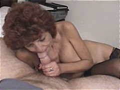 Nuvid Movie:Mature brunette takes cock in ...