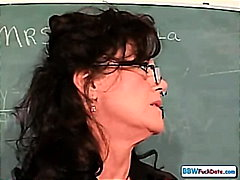 Mature Chubby Teacher - 32:54