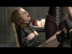 Leila Chained and Teased video