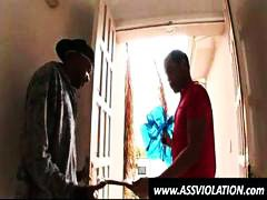 Nuvid Movie:White gay twink goes down on a...
