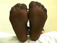 Xhamster Movie:Japanese feet in Nylons