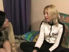 See: Blonde teen gets a nic...